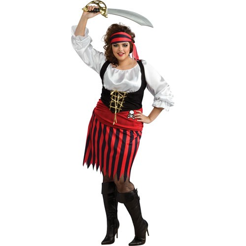 COSTUME ADULTE LUXE PIRATE FEMME