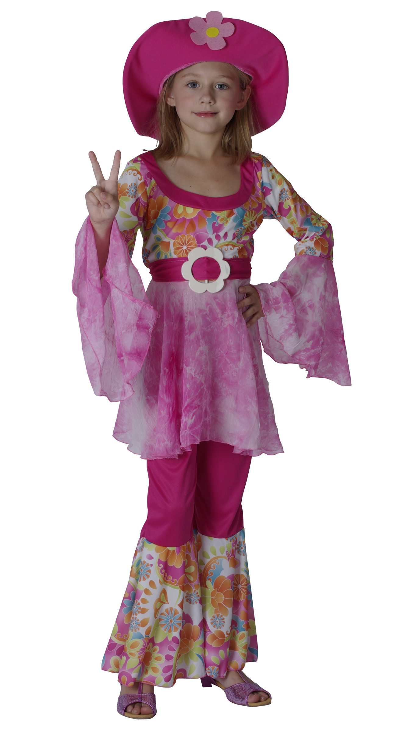 COSTUME HIPPIE ENFANT