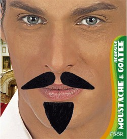 MOUSTACHE PLUS BARBICHE