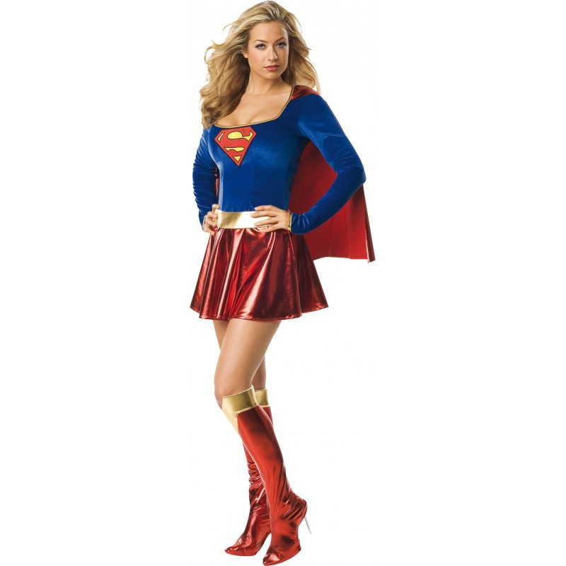 COSTUME SUPERGIRL TAILLE XS/S
