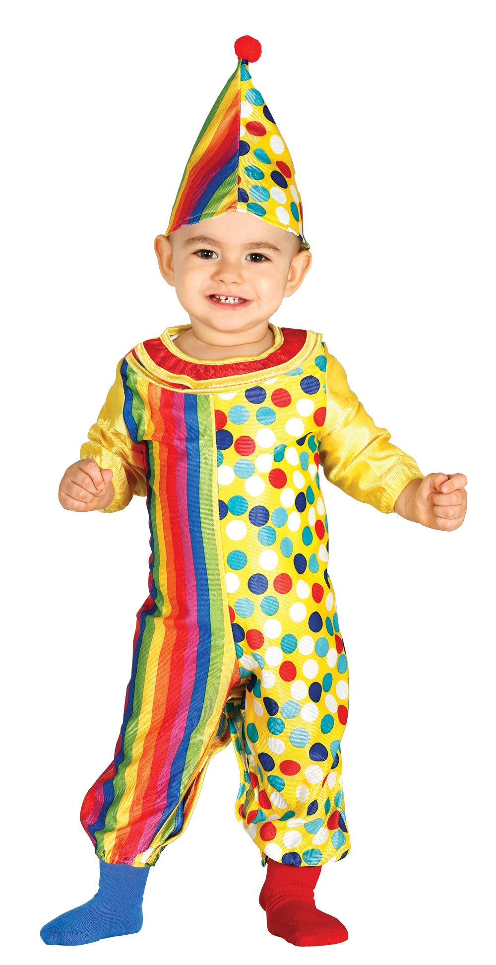 COSTUME  BABY LUXE  CLOWN
