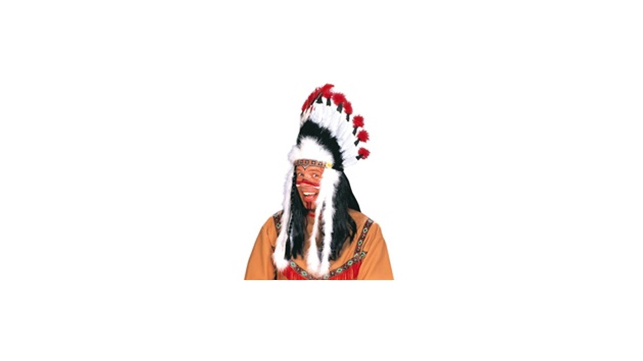 COIFFE INDIEN 15 PLUMES