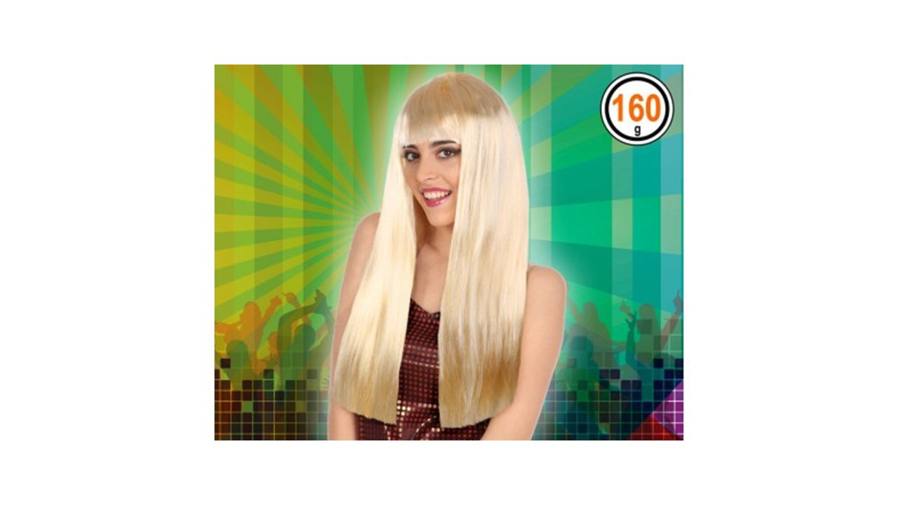 PERRUQUE LADY BLONDE