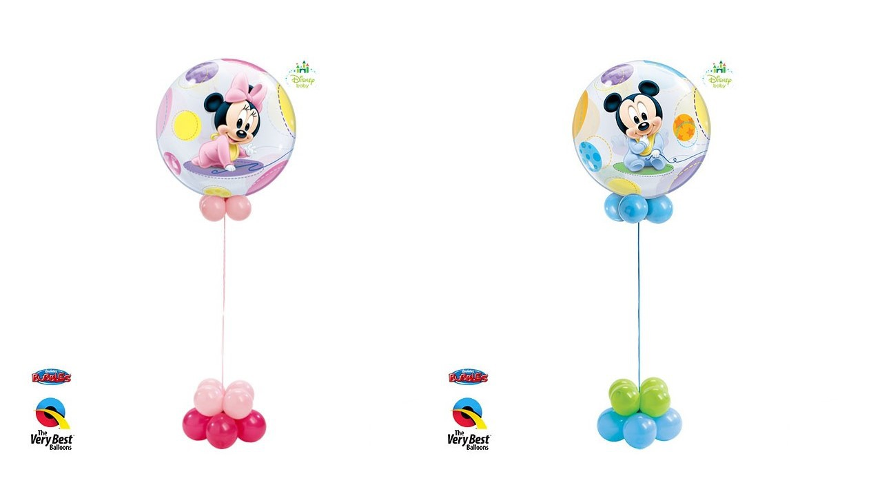 COLONNE BUBBLE BABY MINNIE ou MICKEY