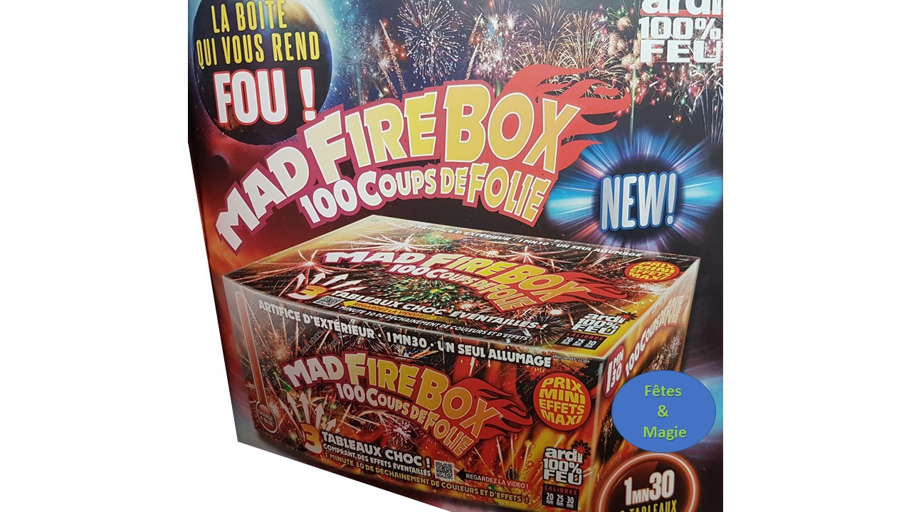 MAD FIREBOX 100% FEU